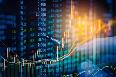 bigstock graph of stock market data and 156785051 - Learn How To Monitor And Improve Your Business With Digital Data Analytics
